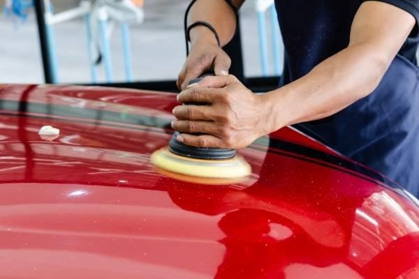 Car paint correction Mackay